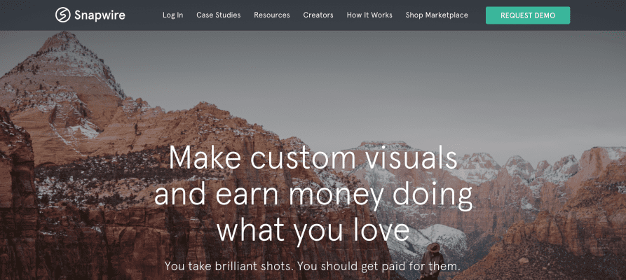 Sell your photography online