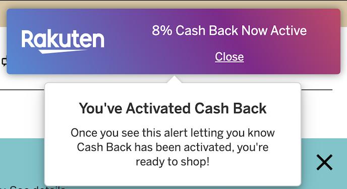 What is Rakuten Cash Back