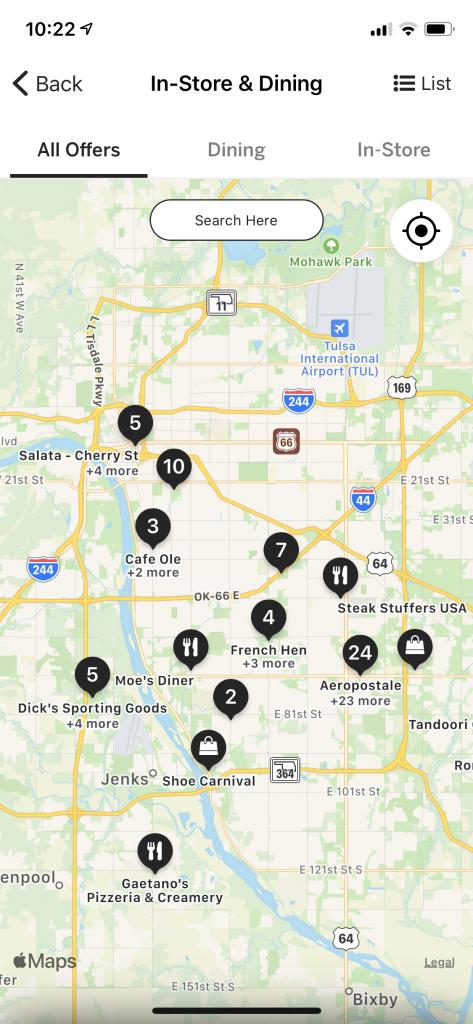 Rakuten App Map