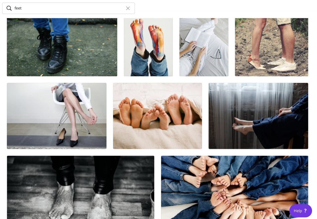 selling feet pics on stock photography websites