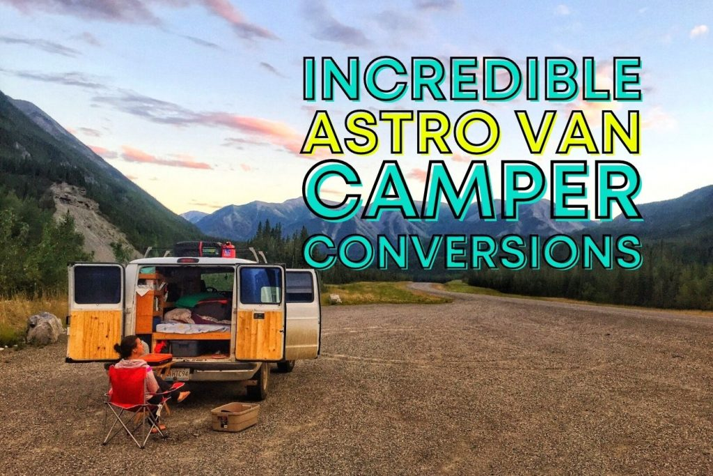 chevy astro van camper conversions featured photo