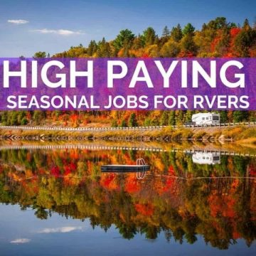 Seasonal Jobs for RVers